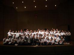 With music students at Chulalongkorn Univ.