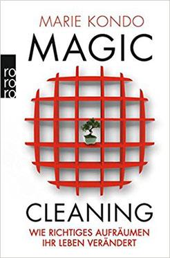 Marie Kondo Magic Cleaning Aufräumen und Ausmisten nach der Konmarie Methode   #Ordnung #Buchtipp #Bücher #Konmarie