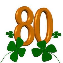 Sprüc he und Wünsche zum 80. Geburtstag
