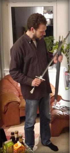 zweischneidiges Schwert