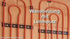 Wandheizung montieren und verputzen in Gelnhausen und Frankfurt