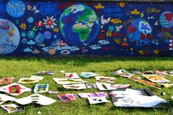Ein Platz für alle - Begegnungsfest der Straßenkünste am 16./17. Mai 2015 in der Bayernkaserne (Mohr-Villa)