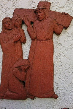 第8留 イエス、エルサレムの婦人らを慰める