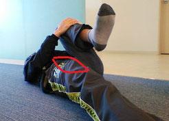 腰の部分がキリッと痛いのを治した方法