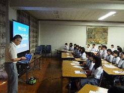 中野先生が説明してくださいました。