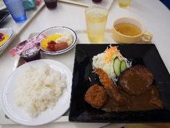 お昼をごちそうになりました。
