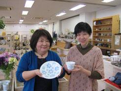 伊都桃山釜のお皿とカップ by 糸島応援プラザ