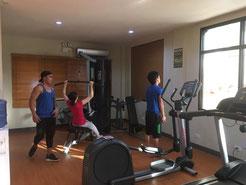 同時に5人までならトレーニング可能です。