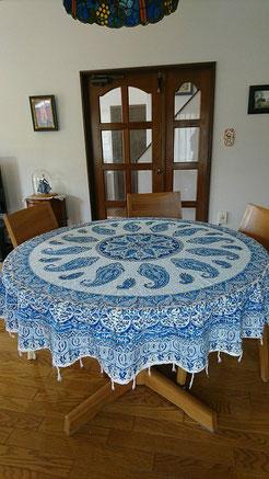 95cm丸テーブル150cm円形サラサ