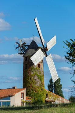 Moulin de l'Epinay à La Chapelle St Florent