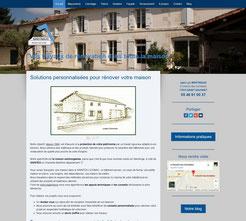 Martinaud Rénovation site cree en formation avec e-cime.fr spécialiste du site avec optimisation Référencement pour TPE