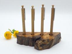 Flaschenverschluss aus Holz, Olivenholz