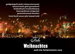 Stralsund + Feuerwerk