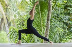 Yoga Winschoten Warrior 1 Lisa Schuur Virabhradasana