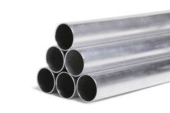 Aluminium Rohr, Rohr Alu, Aluminium Rundrohr - Sämtliche Durchmesser