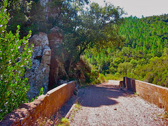 Pont du pigeonnier, Estérel.