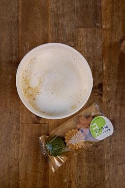Hojicha-Latte vom Mamecha