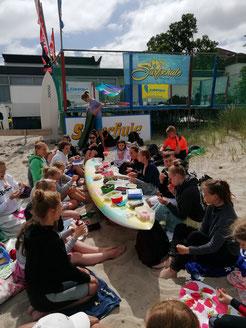 Bild: Surfschule Niendorf/O., Timmendorf, SUP Center, Feiern am Strand, Lübecker Bucht, Ostsee