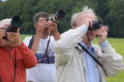 Begeisterte Fotographen