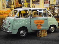 """La Fiat 600 Multipla in viaggio per il mondo con a bordo i Sapori de """"La Fabbrica della Pasta Senza Glutine""""!!!"""