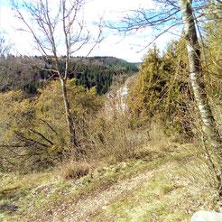 Aussicht vom Trail