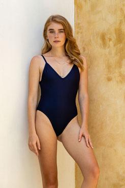 Sustainable swimsuit - blue