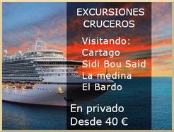Excursiones para cruceros con escala en Túnez