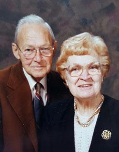Paul e la moglie Rosemary, anni '80
