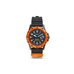 Fossil FB-Adventure Three-Hand Date Silicone Watch