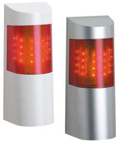 optisch akustischer Signalgeber von Telenot, Sirene, presented by Safetech