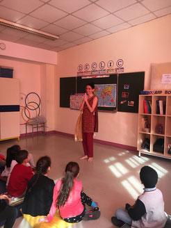 Projet pédagogique interculturel à l'école