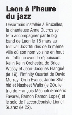 Jazz Magazine mars 2015