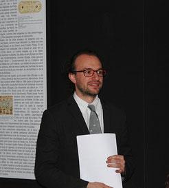 Thomas Bohl, conservateur du patrimoine, mobilier national / Photo Yvan François