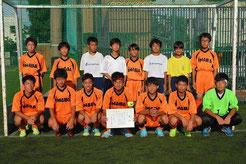 男子優勝 稲羽中学校