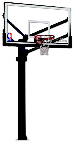 "Spalding 72"" Arena View"