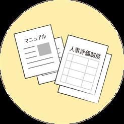 業務マニュアル・人事考課制度の作成支援