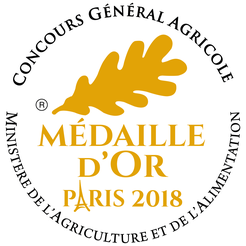 Vin médaille d'or Paris
