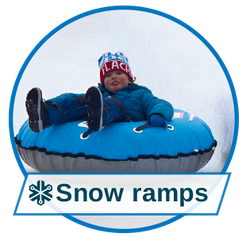 Events & Entertainment with snow ramps