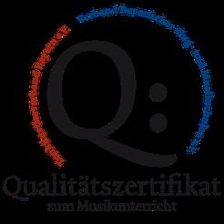 Qualitätszertifikat zum Musikunterricht
