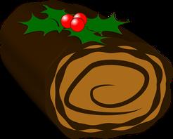 Baumkuchen ohne Zucker, zuckerfreies Rezept, Weihnachten