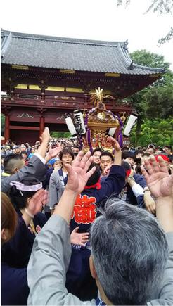 mikishiotokoさん,根津神社例大祭,二十三ヵ町宮入