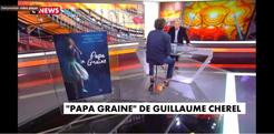 Interview télévision Patrick poivre d'Arvor Vive les Livres Guillaume Cherel