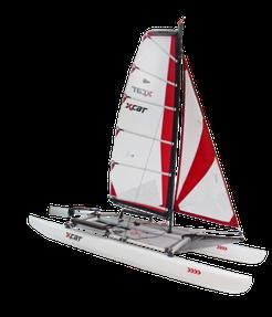 XCAT Sail | ohne aufblasbare Schlauchrümpfe segeln