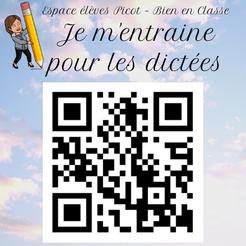 Orthographe Dictées Picot Grammaire Méthode Picot entrainement jeu révision CE2 CM1 cycle 2 cycle 3