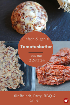 Tomatenbutter #grillen #grillparty #brunch #brotaufstrich #thermomixrezepte