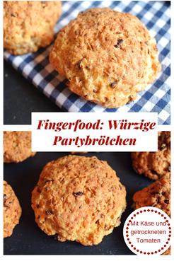#Fingerfood Würzige Partybrötchen, schnell & einfach