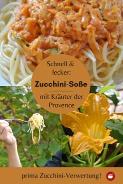 Zucchini-Soße mit #Kräuter #Pasta #Zucchini  #Zucchiniverwertung #orgaBine