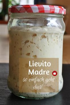 Lievito Madre füttern und pflegen #sauerteig #lm #lievitomadre