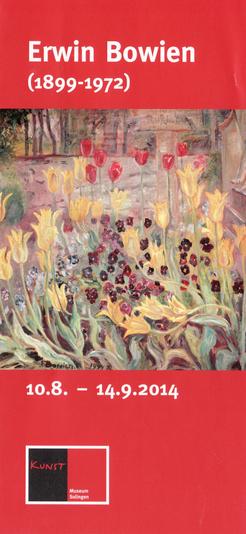 Einladungskarte Ausstellung Kunstmuseum Solingen, 2014