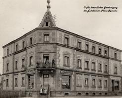 Geschäft Außenansicht - Anfang des 20. Jahrhunderts